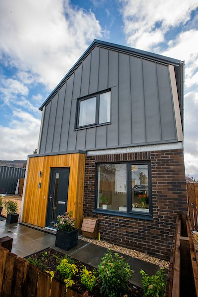 Exterior photograph of the Dow showhome